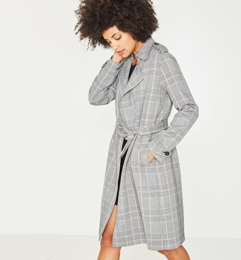 trench-jacquard-carreaux-femme-promod-shopping